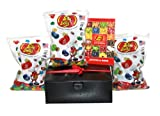 Gift Boxed 3 Total Pounds: 1 Pound Each of Assorted 49 Flavors, Sours & Fruit Bowl Jelly Belly Beans