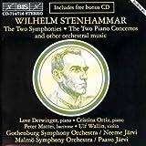 ステンハンマル:交響曲 第1番、2番、セレナーデ (3CD)