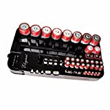 ELEGIANT 72 Batterie Tester Halterung Case Holder Storage Box Battery