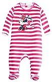 Pijama Rayas bebé niña Minnie Disney Baby Rosa de 3a 23meses rosa blanco/rosa Talla:23 mes