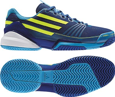Adidas - Adizero Feather Mens Shoes In Collegiate Royal / Electrici / Freshspla, Size: 10.5 D(M) US Mens, Color: Collegiate Royal / Electrici / Freshspla