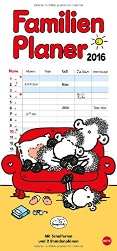 sheepworld Familienplaner 2016, Buch