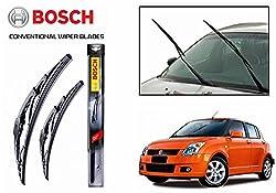 Speedwav 53154 Bosch Conventional Wiper Blades For Maruti Suzuki Swift 21 x 19 Inches(Set of 2)