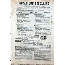 MECANIQUE POPULAIRE [No 56] du 01/01/1951 - L'OEIL MOBILE DE LA TELE - ETAT D'ALERTE PERMANENT - LES FUSEES VOLANTES...