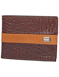 MC MARCCHANTAL Brown Men's Leather Wallet - B00SN8ZJK2