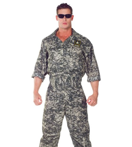 Underwraps Men's U.S. Army Jumpsuit