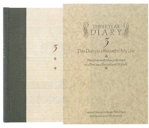 ミドリ 日記 3年連用 洋風