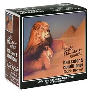 light mountain natural hair color conditioner dark. Black Bedroom Furniture Sets. Home Design Ideas