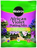 Miracle-Gro 72678500 African Violet Potting Mix Bag, 1-Cubic-Foot Garden, Lawn, Supply, Maintenance