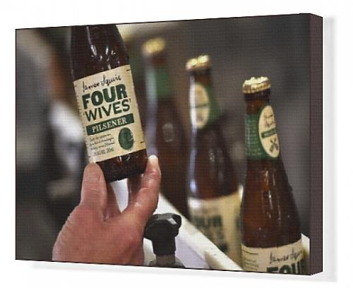 canvas-print-of-australia-lifestyle-beer