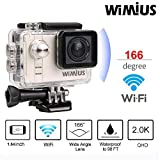 WIMIUS A1 Action Kamera Full HD Ambarella Actioncam Sport DV