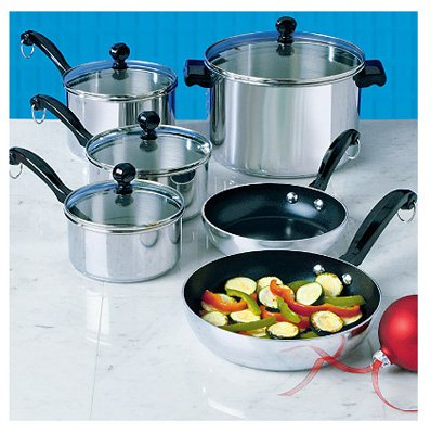 Farberware Classic Stainless Steel Cookware Set