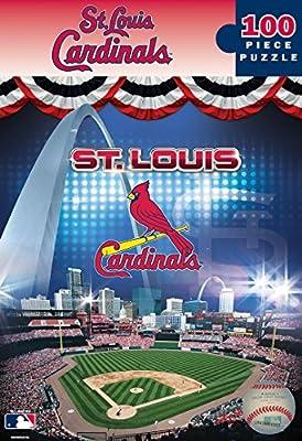 Masterpieces MLB St. Louis Cardinals Busch Stadium Jigsaw Puzzle (100 Piece)