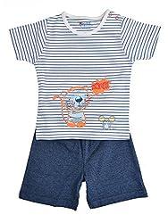 boys pepito shorts set navy milanch 6-9 M