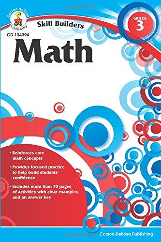 Math, Grade 3 (Skill Builders)