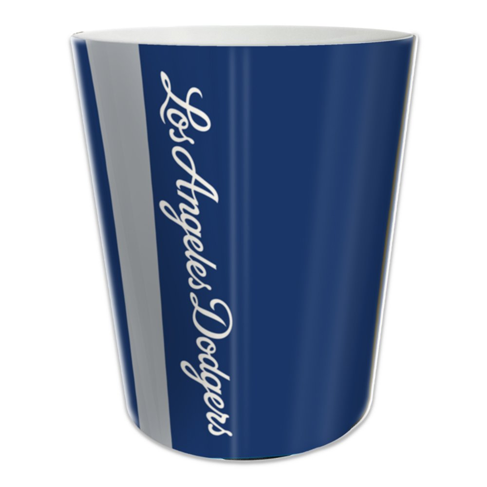 Los Angeles Dodgers Bathroom Wastebasket wincraft win 2904912 los angeles dodgers mlb round wall clock