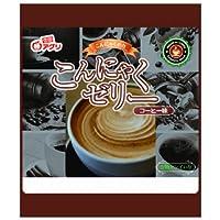 雪国アグリ こんにゃくゼリー コーヒー味 (18g×6個入り)×6袋