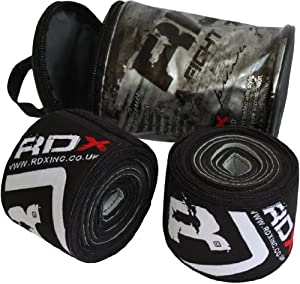 Authentic RDX GEL Hand Wraps Bandages Gloves MMA, Boxing Mexican Punch Bag Muay Thai by RDX