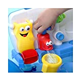 New Baby Gift Fun Cartoon Yookidoo Flow 'N' Fill Spout Bath Toy Learning Toy Set