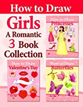 A Romantic 3 Book Collection for Girls How to Draw Collection 7