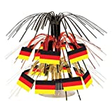 German Flag Mini Cascade Centerpiece Party Accessory (1 count) (1/Pkg)