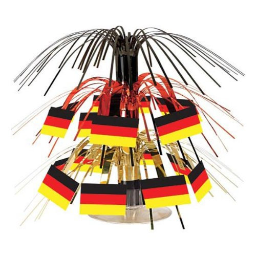 German Flag Mini Cascade Centerpiece Party Accessory (1 count) (1/Pkg) - 1