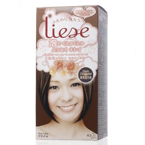 Kao Liese Soft Bubble Hair Color Dark Chocolate Hair