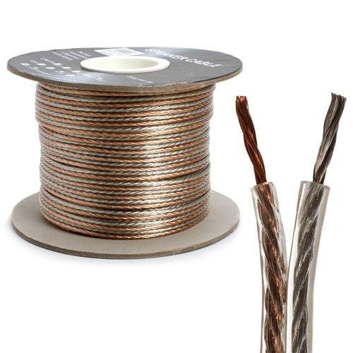 Bulk Speaker Wire, 12-Gauge 2-Conductor , 300-Feet Spool