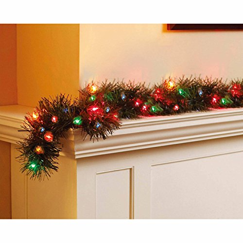 Holiday Time 18' Pre-Lit Garland