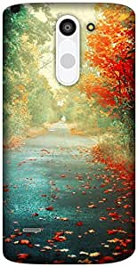 The Racoon Lean road to paradise hard plastic printed back case / cover for LG G3 Stylus
