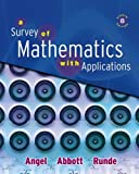 img - for Survey of Mathematics with Applications, A (8th Edition) book / textbook / text book