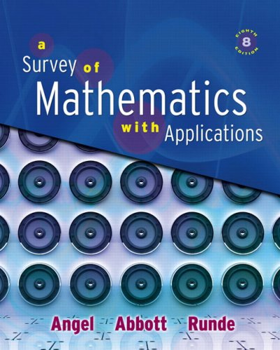 Survey of Mathematics with Applications Value Pack (includes MyMathLab/MyStatLab Student Access Kit  & Student's Sol