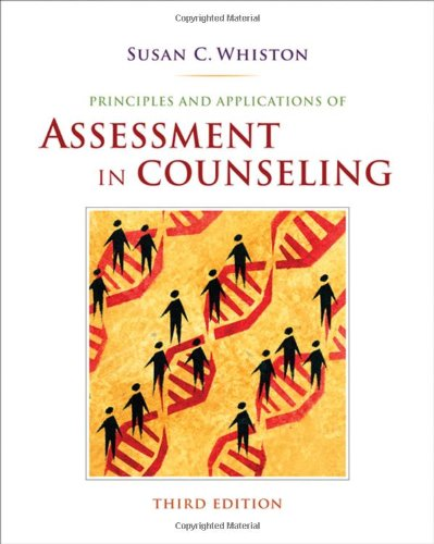 Principles and Applications of Assessment in Counseling,...