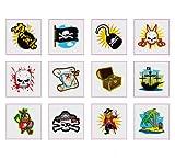 Pirata Tatuajes - Paquete de 12