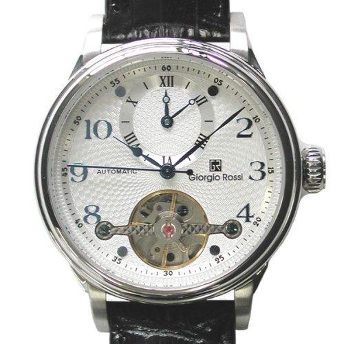 [ジョルジオ ロッシ]Giorgio Rossi 腕時計 GR0003-SI トゥールビヨン風/ツイン時計 メンズ [正規輸入品]