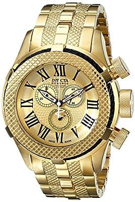 Invicta Men's 17163 Bolt Analog Display Swiss Quartz Gold Watch