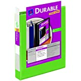 Avery Durable View Binder with 1.5 inch Rings, Green, 1 Binder (17835)