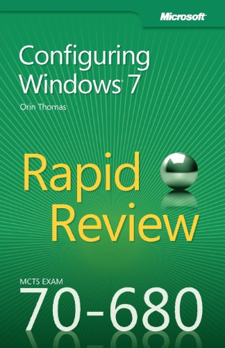 MCTS 70-680 Rapid Review 0735657297 pdf