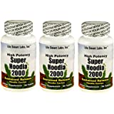 2000 mg  Super Hoodia 2000 (3 Bottles) 180 pills 3 Months Time Released