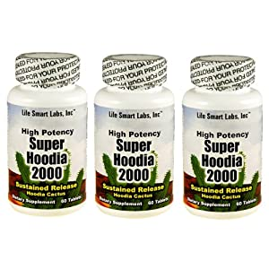 2000 mg Time Released Super Hoodia 2000 Hoodia 180 pills 3 Months