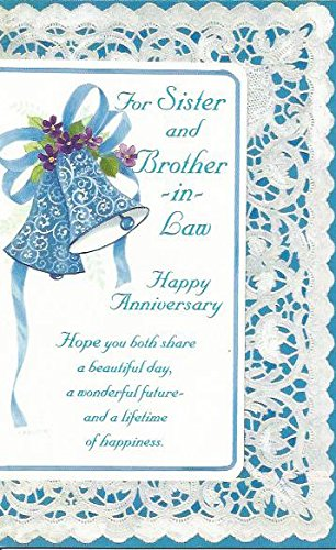 happy anniversary to sister and husband