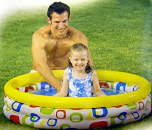 Intex piscina geometria piccola 59419 - Amazon piscina bambini ...