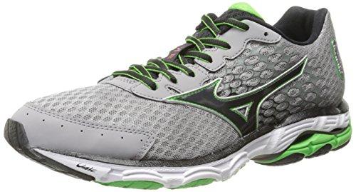 Mizuno Men's Wave Inspire 11 Running Shoe,Alloy Black,10.5 D US
