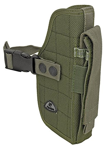 Airsoft Holster OD Green Right Handed Gun Belt Holster BB Airsoft Pistol Tactical Handgun Tactical Holster Gun Holster (Kydex Mag Insert compare prices)