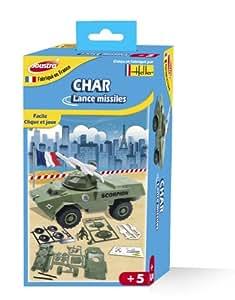 joustra 40041 jeu de construction char lance missiles jeux et jouets. Black Bedroom Furniture Sets. Home Design Ideas