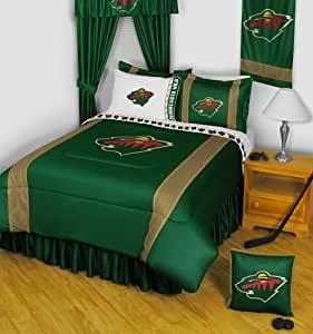 Minnesota wild 4 pc queen comforter set for Matching bedroom and bathroom sets