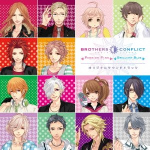 BROTHERS CONFLICT Passion Pink&Brilliant Blue OST