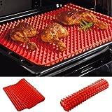 Magigo résistant à la chaleur du four de cuisson BBQ Mat Isolation napperons antidérapants Bakeware Liner