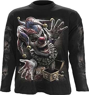 Spiral Direct - T-Shirt à manches longues -  Homme -  Noir - Noir - Large