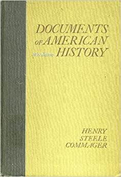 Documents of american history 8th edition henry steele for From documents of american history